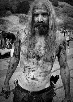Bill Moseley as Otis B. Driftwood - The Devil's Rejects Rob Zombie Music, Rob Zombie Art, Rob Zombie Film, Zombie Movies, Horror Icons, Horror Films, Horror Art, Horror Stories, Otis Driftwood