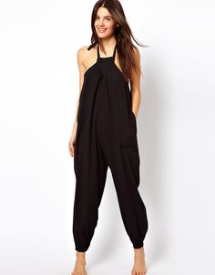 beach jumpsuit - next summer - have to be a stick to wear this & look sexy