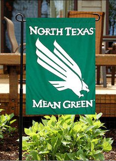Need to show your neighbors how much you love the Mean Green, thought so. Buy this garden flag for $14.95