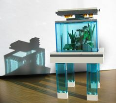 lego aquascape by Swedish professional photographer and aquascaper Kim Pulkki, via his flickr page