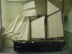 Model of the 'Hannah Ransome.'