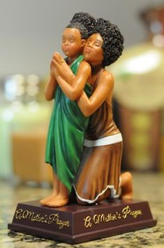 A Mother's Prayer - African American Figurine