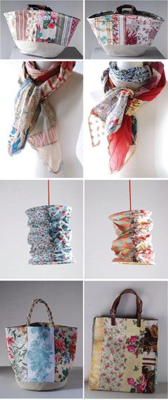 New uses for old handkerchiefs