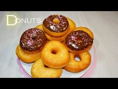 How to make donuts Doughnut, Scones, Desserts, Pie Cake, Recipes, Baby Cakes, Homemade Tortillas, Bagels, Cooking Recipes