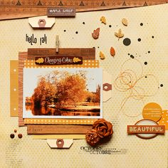 ★Scraptherapie★: {Hello Fall}