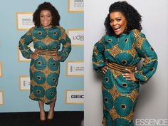 Nicole Yvette Brown in a Leap of Style