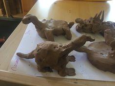 dinosaurussen kleien Projects, Kindergarten, Apps, Winter, School, Clays, Dinosaurs, Log Projects, Winter Time