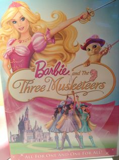 Barbie and the three musketeers  All for One  BARBIE ROCKS