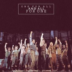 One for all and all for one! #newsies