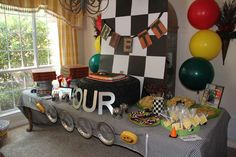 Monster Trucks Birthday Party Ideas | Photo 1 of 66 | Catch My Party