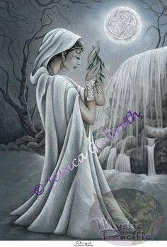 Airmid, Celtic Goddess of healing, the healing arts and medicinal plants.
