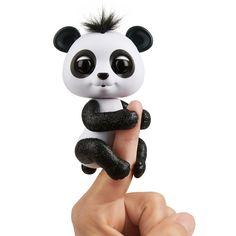 Fingerlings Glitter Panda - Drew | The Entertainer Hand Puppets, Finger Puppets, Panda Drawing, Oui Oui, Zoo Animals, Pet Store, Archie, How To Fall Asleep, Mickey Mouse