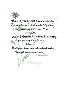 Hand Scribed Calligraphic 'Prayer by St. by CalligraphicArtisan, $18.00