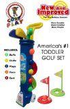 Children's Toddler Golf Set - http://tonysgolf.com/2015/04/22/childrens-toddler-golf-set/