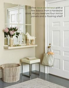 Γ  ραφεία, κομοδίνα, εταζέρες για να συνδυάσετε έναν καθρέφτη, συνθέσεις για βιβλία, πρόσθετους ανοιχτούς αποθηκευτικούς χώρους στ...