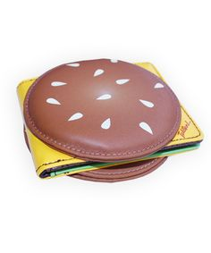 burger wallet for my niece who loves burgers @Rebecca Rosen