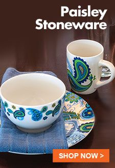 Paisley Stoneware - Shop Now at Dollar Tree