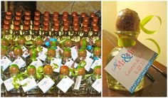 The adorable party favors my bridesmaids gave out for our Fiesta themed couple's shower! #partyfavors