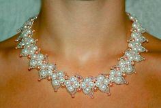 DIY Necklace  : DIY Free pattern for beautiful beaded necklace Altera