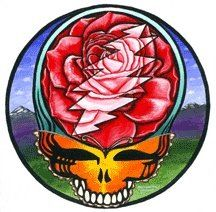 Run for the roses stealie, grateful dead