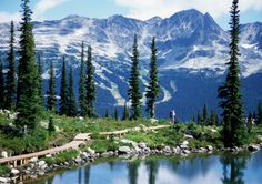 Summer Mountain Vacations: Ski resorts are summer paradises during the off-peak season.
