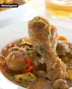 Como hacer un pollo a la cerveza paso a paso, receta fácil y rápida. Probad y nos contáis.