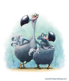 Chris Ayers Design -The Smartest Dodo I know ★ Find more at http://www.pinterest.com/competing/