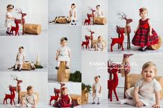 Today i have done a test shoot for  Christmas mini session idea and sets. I loved how they turned out. Many thanks to Lindo Props for the backdrop, The Barn Antique for the custom tree trunk and Ew Couture for the gold and silver Stars Overlay by