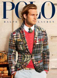 Ralph Lauren madras jacket, spring 2013.