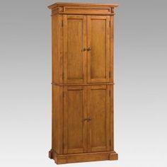 Wood Pantry Cupboards
