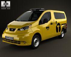 Nissan NV200 New York Taxi 2014