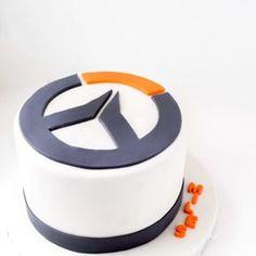 Overwatch Birthday Cake http://neuroticbaker.com/2017/06/overwatch-birthday-cake/?utm_campaign=coschedule&utm_source=pinterest&utm_medium=cheryl%20vivian%20%7C%20neurotic%20baker&utm_content=Overwatch%20Birthday%20Cake
