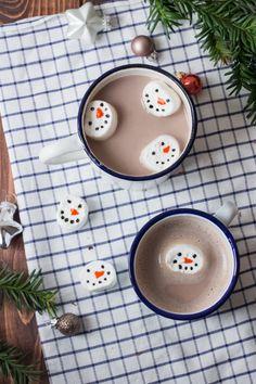 Schneemann Kekse & Marshmallows mit Nordzucker