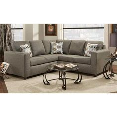 2PC Onyx Sectional C1-385-2PC - american furniture warehouse
