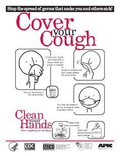 How you can stop the spread of germs when you're sick.
