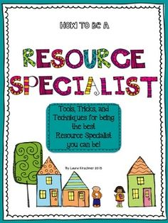 $ Special Education: How to Be a Resource Specialist