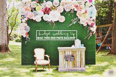 DIY Wedding Photo Backdrop East Coast Creative Blog