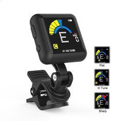 Amazon.com: Guitar Tuner,Getaria AT-200D Universal Portable Clip-on Electric Tuner Three Colors Backlit Screen for Guitar Chromatic Bass Ukulele: Musical Instruments