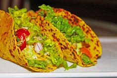 Shredded Chicken Soft Tacos