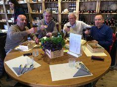 6/4/2016 Bruxelles. Pane Toscano festeggia la DOP alla UE. Nella foto Corrado Menchetti, Ugo Giambastiani, Roberto Pardini e Piero Capecchi