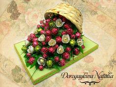 Gallery.ru / Клубничная полянка - Композиции из конфет - norgis
