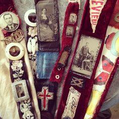 Belts, Bracelets  Straps  Amazing...must must learn--by Amy Hanna