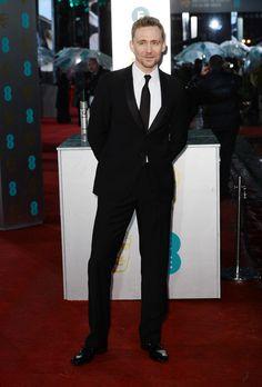 Tom at the 2013 BAFTA Awards