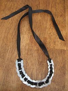 washer necklace #washer #necklace