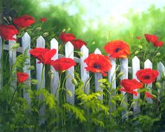 """paintings of poppies 