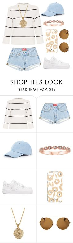 """""""Untitled #31"""" by lararoseballerina ❤ liked on Polyvore featuring L.K.Bennett, Sole Society, NIKE, Kate Spade, 2028 and Givenchy"""