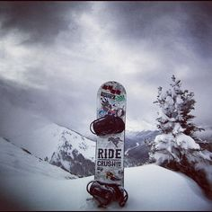 Ride #snowboarding