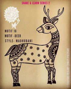 Phad Painting, Worli Painting, Fabric Painting, Madhubani Art, Madhubani Painting, Doodle Art Drawing, Cool Art Drawings, Indian Folk Art, Indian Ethnic