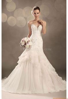 Frühling und Herbst Designer Brautkleider