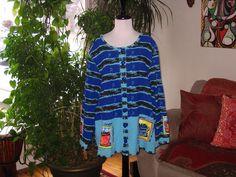Onque artsy jacket top